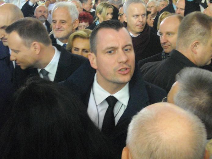 W Uroczystości uczestniczyły także władze państwowe - z prezydentem A. Dudą na czele.